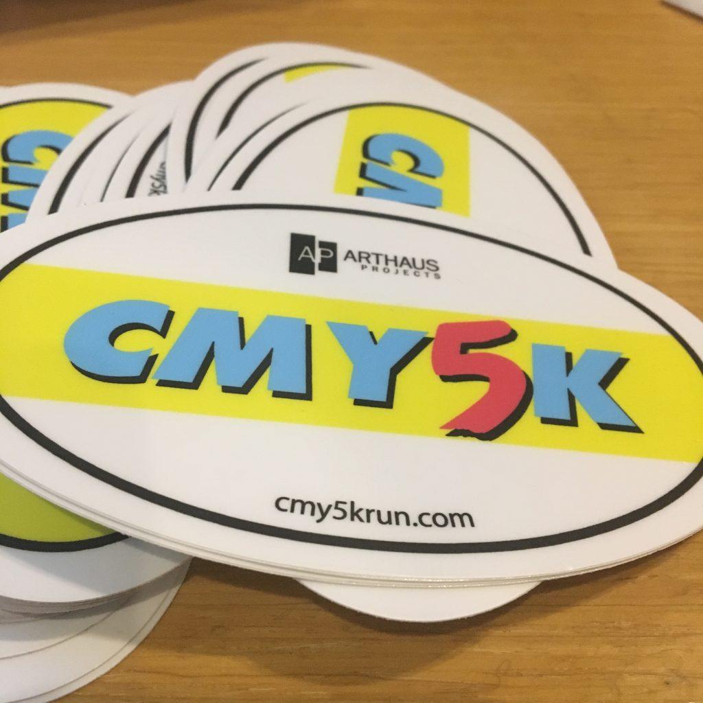 CMY5K Sticker