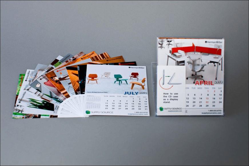 Supply Source Calendar