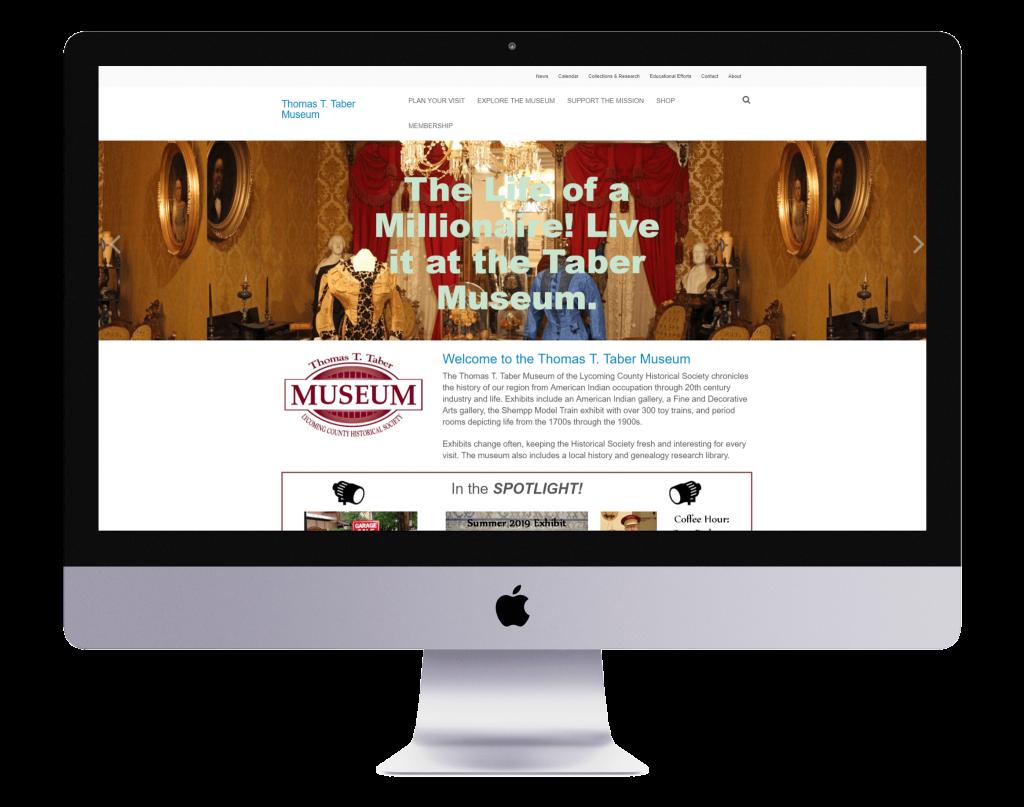 Taber Museum Website