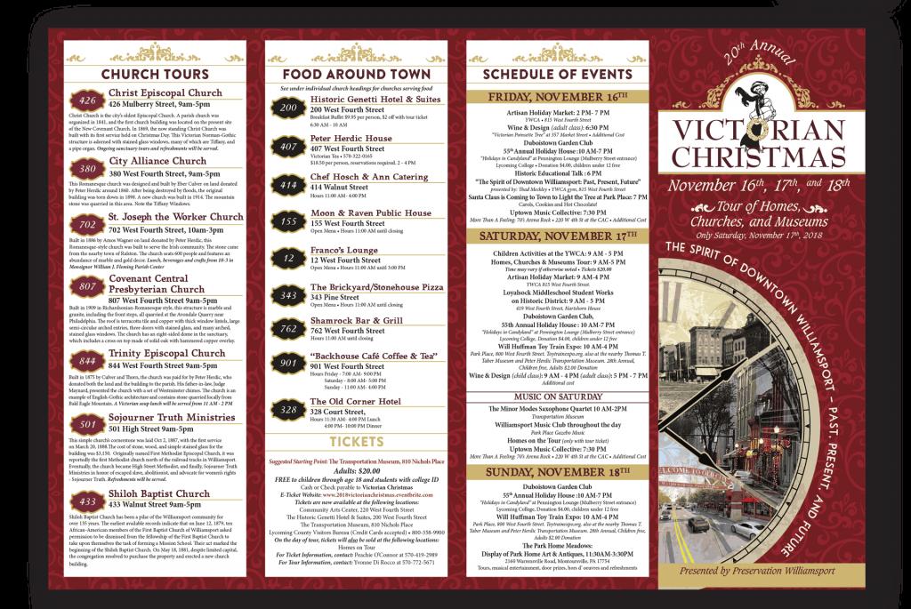 Victorian Christmas Brochure