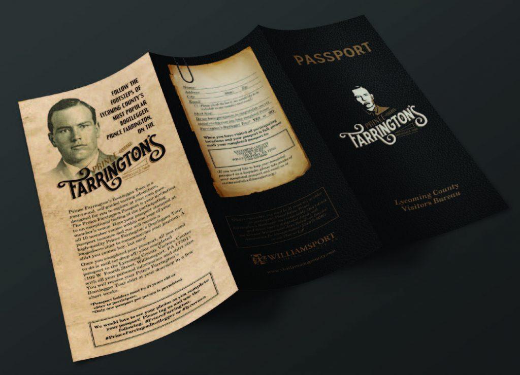 Prince Farrington's Bootleggers Tour Passport