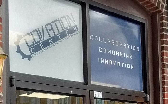 Covation Center Sign