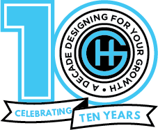 10 Years Graphic Hive Logo