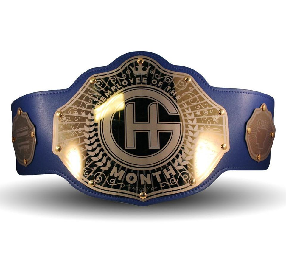 Employee of the Month Belt