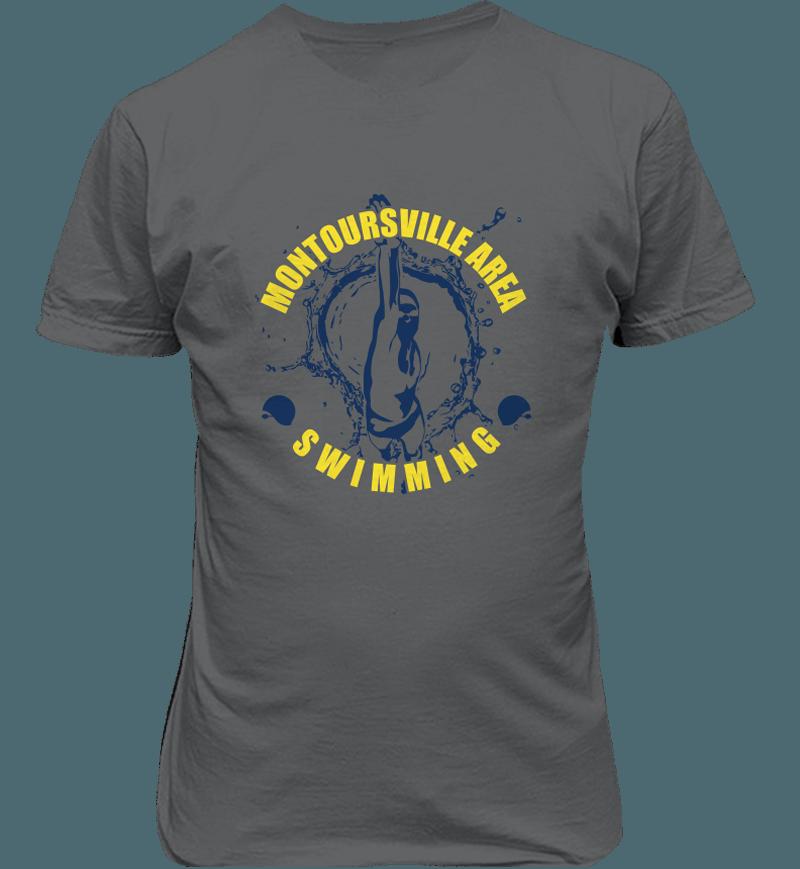 Montoursville Swimming Shirts