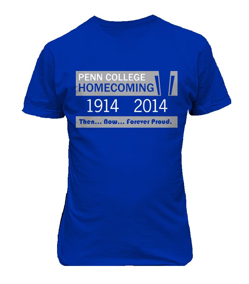 Penn College Homecoming Shirts